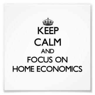 Guarde la calma y el foco en la economía doméstica