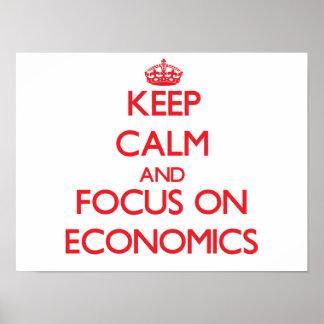 Guarde la calma y el foco en la ECONOMÍA Impresiones