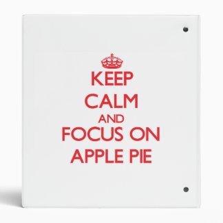"""Guarde la calma y el foco en la empanada de Apple Carpeta 1"""""""