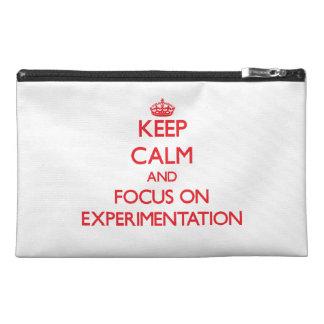 Guarde la calma y el foco en la EXPERIMENTACIÓN