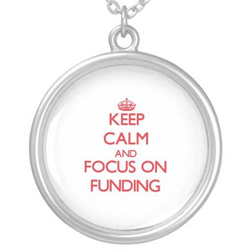 Guarde la calma y el foco en la financiación pendiente personalizado