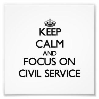 Guarde la calma y el foco en la función pública