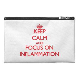 Guarde la calma y el foco en la inflamación