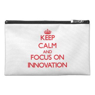 Guarde la calma y el foco en la innovación