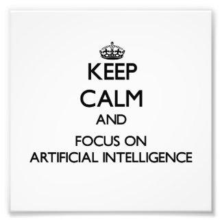 Guarde la calma y el foco en la inteligencia artif