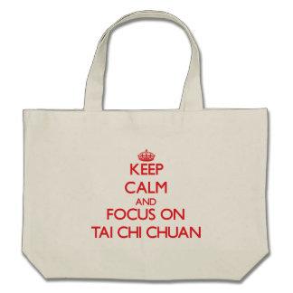 Guarde la calma y el foco en la ji Chuan del Tai Bolsa