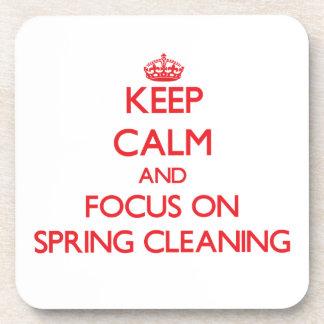 Guarde la calma y el foco en la limpieza