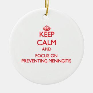Guarde la calma y el foco en la prevención de meni
