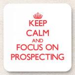 Guarde la calma y el foco en la prospección