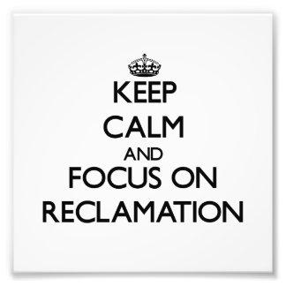 Guarde la calma y el foco en la recuperación