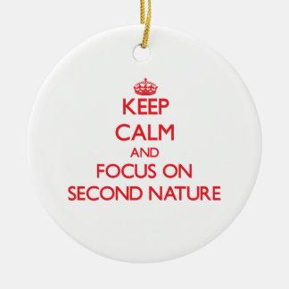 Guarde la calma y el foco en la segunda naturaleza