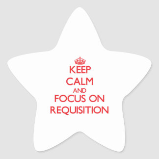 Guarde la calma y el foco en la solicitud