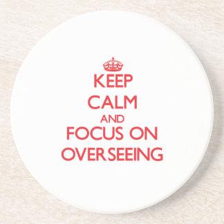 Guarde la calma y el foco en la supervisión posavasos manualidades