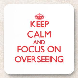 Guarde la calma y el foco en la supervisión posavaso
