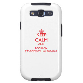 Guarde la calma y el foco en la tecnología de la i galaxy s3 protector