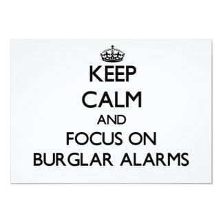 Guarde la calma y el foco en las alarmas comunicados