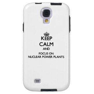 Guarde la calma y el foco en las centrales nuclear