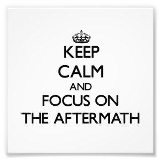 Guarde la calma y el foco en las consecuencias