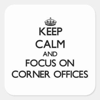 Guarde la calma y el foco en las oficinas de la es