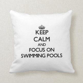 Guarde la calma y el foco en las piscinas