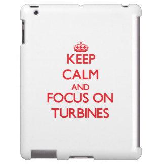 Guarde la calma y el foco en las turbinas