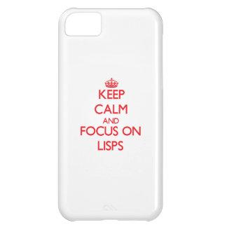 Guarde la calma y el foco en Lisps