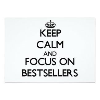 Guarde la calma y el foco en los bestsellers anuncios