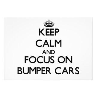 Guarde la calma y el foco en los coches de paracho anuncio