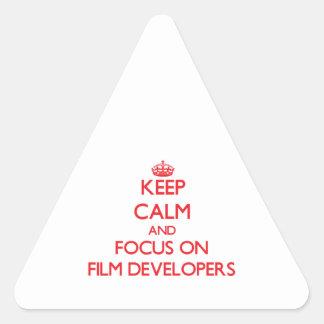 Guarde la calma y el foco en los desarrolladores d