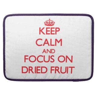 Guarde la calma y el foco en los frutos secos