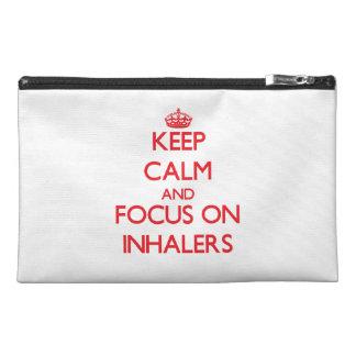Guarde la calma y el foco en los inhaladores