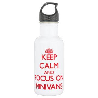 Guarde la calma y el foco en los minivanes