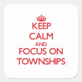 Guarde la calma y el foco en los municipios colcomanias cuadradass