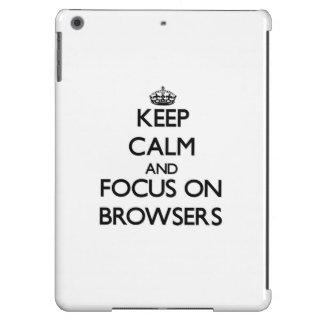 Guarde la calma y el foco en los navegadores
