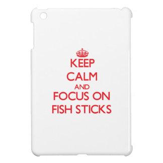 Guarde la calma y el foco en los palillos de pesca