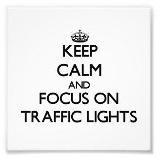 Guarde la calma y el foco en los semáforos
