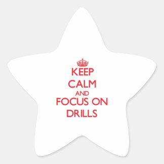 Guarde la calma y el foco en los taladros