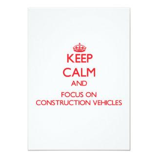Guarde la calma y el foco en los vehículos de la comunicado