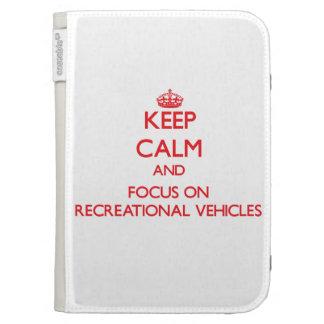 Guarde la calma y el foco en los vehículos recreat