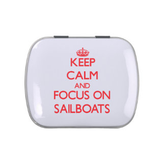 Guarde la calma y el foco en los veleros