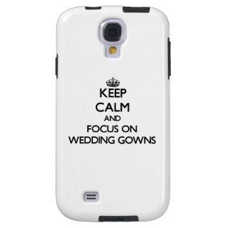 Guarde la calma y el foco en los vestidos de boda