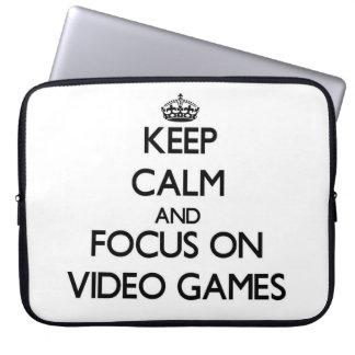 Guarde la calma y el foco en los videojuegos