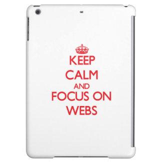 Guarde la calma y el foco en los Web