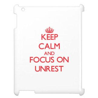 Guarde la calma y el foco en MALESTAR