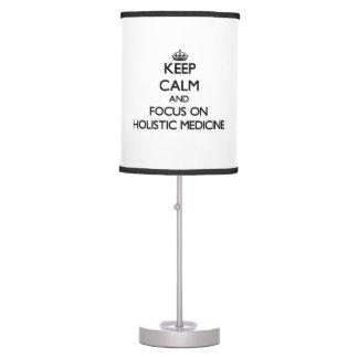 Guarde la calma y el foco en medicina holística