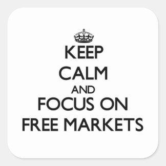 Guarde la calma y el foco en mercados libres