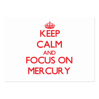 Guarde la calma y el foco en Mercury