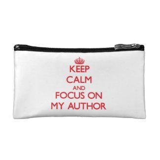 Guarde la calma y el foco en mi autor