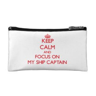 Guarde la calma y el foco en mi capitán de buque