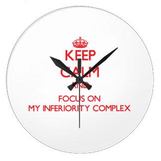 Guarde la calma y el foco en mi complejo de inferi